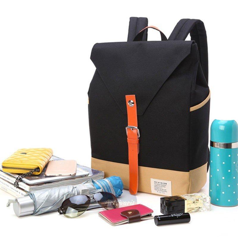 "Artsivaris Retro Backpack 14"" Laptop Computer Bag Travel School Casual Rucksack"