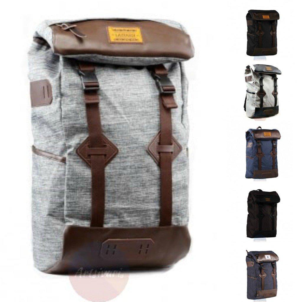 Stylish Waterproof Polyester Laptop Bag Men Women Backpack Sport Hiking Rucksack