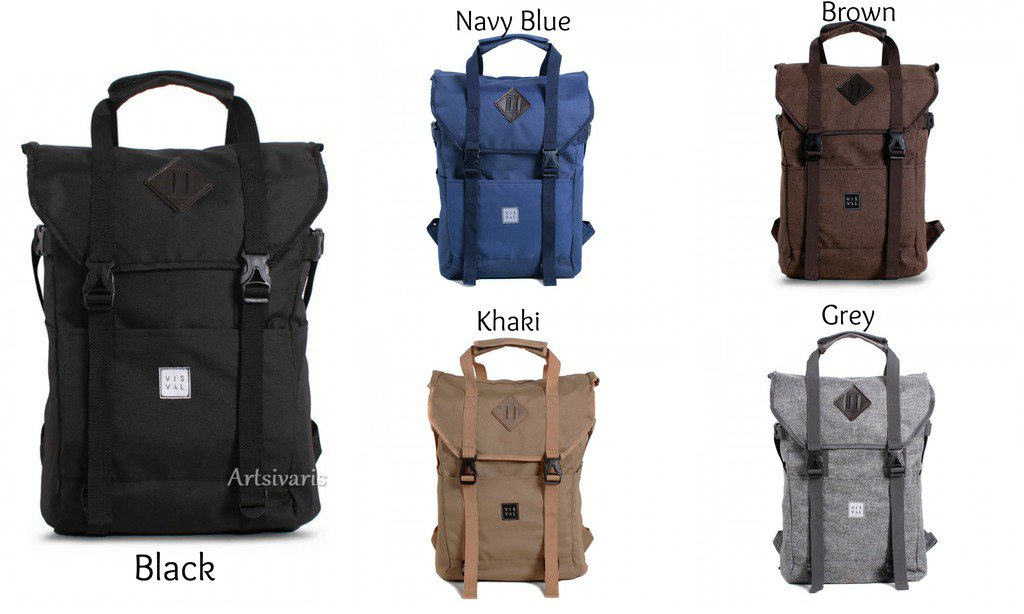 """Stylish Poly 15"""" Laptop Waterproof Backpack Awesome Travel Sport Vintage Bag"""