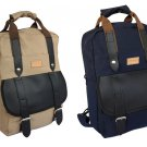 "Stylish Waterproof Canvas 14"" Laptop Computer Backpack Business Briefcase Bag"