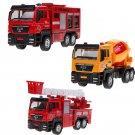 1:55 Small Car Firefighter Truck Children Toys Diecast Kids Baby Christmas Gift