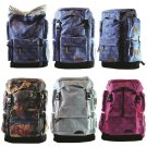 "Stylish 25L Mini Carrier Hiking Daypack 14"" Laptop Bag Travel Satchel Backpack"