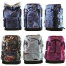 "Stylish 25L Mini Carrier Hiking Daypack 14"" Laptop Bag Travel Satchel Backpack"