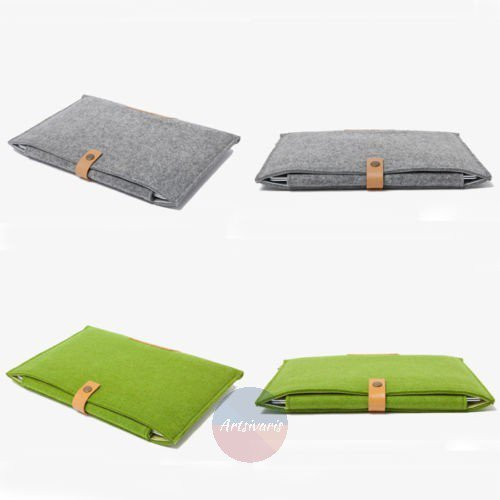 "Wool Felt Laptop Sleeve Case Cover Bag for Apple MacBook Air/Pro 11"" 12"" 13"" 15"""