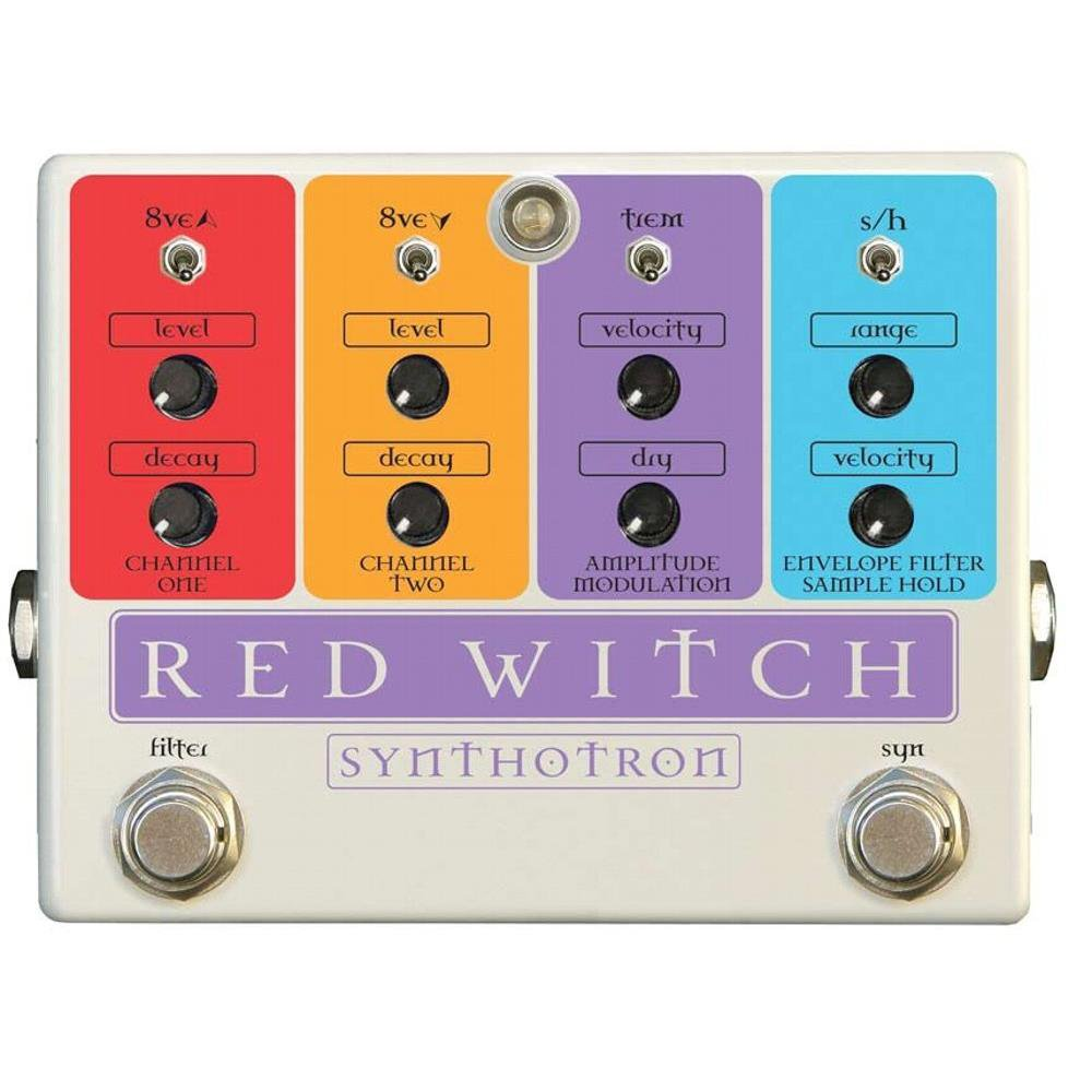 RED WITCH SYNTHOTRON SYNTH GUITAR EFFECTS PEDAL