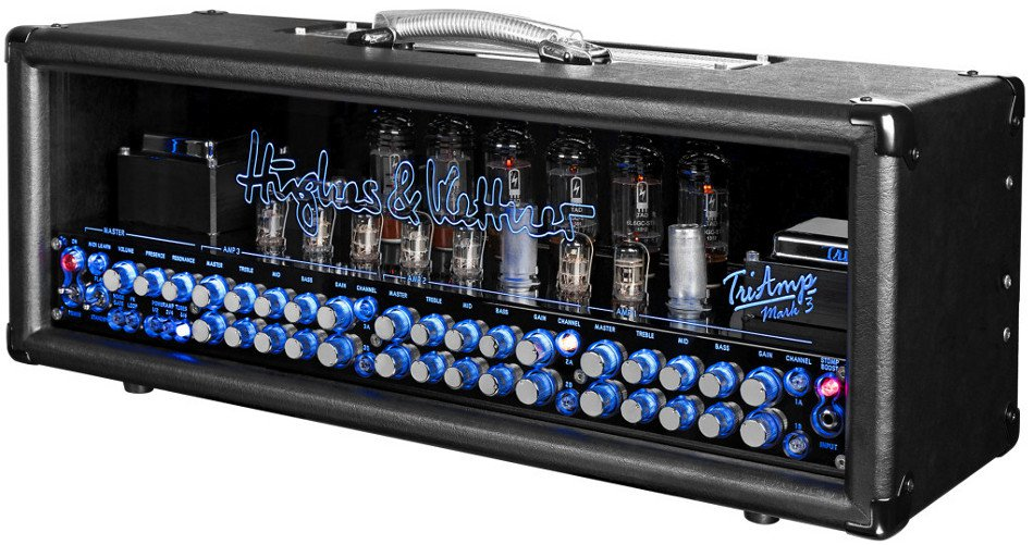Hughes & Kettner TriAmp Mark 3 150W Guitar Tube Amplifier Head with Footswitch