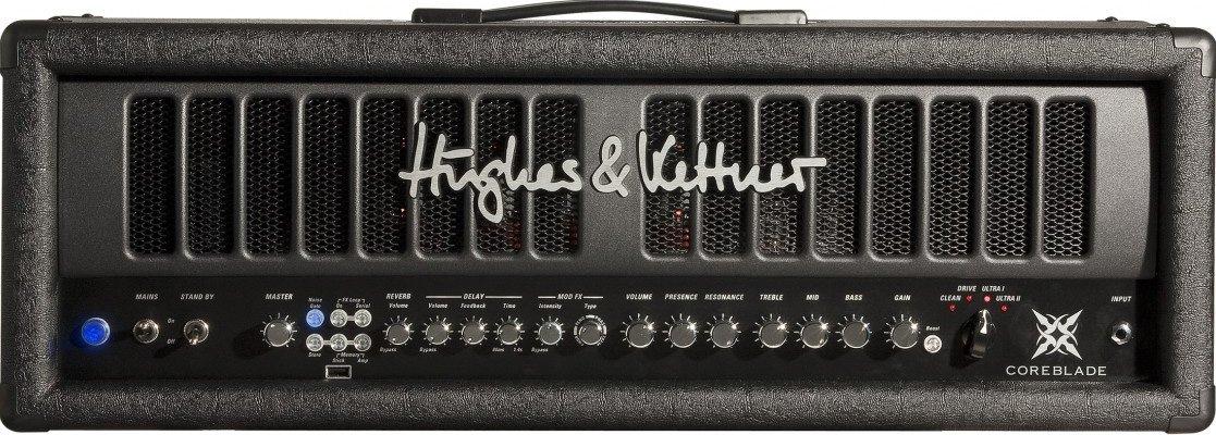 Hughes & Kettner COREBLADE 100W 4-Channel Tube Amplifier Head with Digital Effects