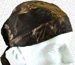 Hunting skull cap in camo design