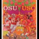 1973 Original Rose Bowl Posters USC Trojans vs Ohio State Buckeyes