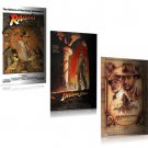 INDIANA JONES 3 PIECE MOVIE POSTER