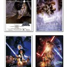 STAR WARS posters (4 set)