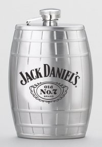 Jack Daniel's Cameo 6 oz. Barrel Flask