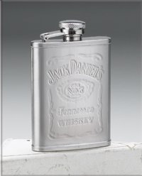 Jack Daniel's Flask-Engravable 8470