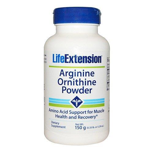 Life Extension Arginine/Ornithine Powder, 5.29 Ounce