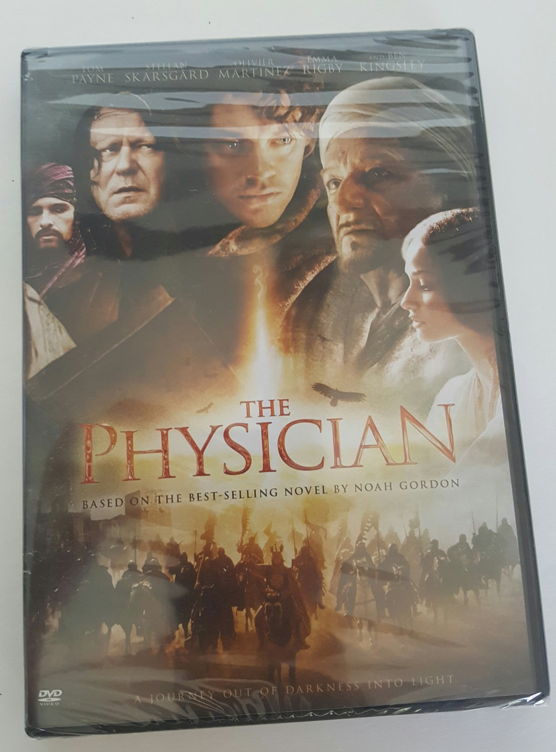 The Physician DVD with Tom Payne & Ben Kingsley