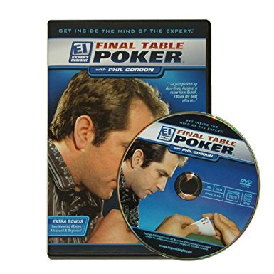 Final Table Poker with Phil Gordon DVD