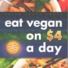 Eat Vegan on $4.00 a Day paperback by Ellen Jaffe Jones