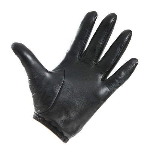 New Men's 100% Genuine Leather Police Gloves / Driving Gloves US