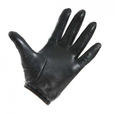 New Men's 100% Genuine Leather Police Gloves / Driving Gloves US