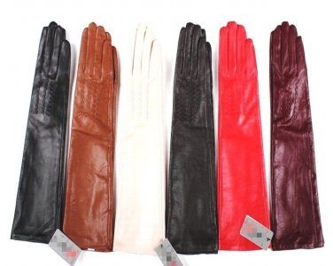New Style Women's 100% Real Leather Opera Gloves/ Party Gloves/ Evening Gloves