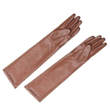 40cm/50cm/60cm Women's Genuine Leather Long Opera Gloves, Evening / Party Gloves