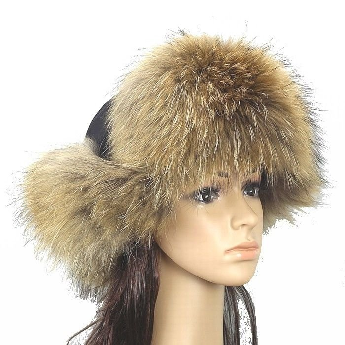 New Fashion Women's 100% Real Fox Fur Hat Warm winter hat *4 Color