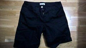 Womens juniors size 3 black shorts BeBop