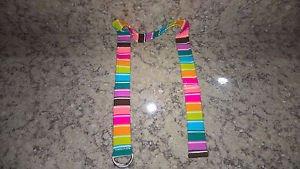 Women's Rainbow Belt Multi-Color