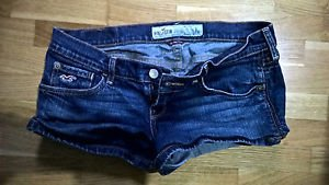 Hollister womens junior jean short shorts size 3