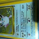 Pokemon wigglytuff holo base set 2 19/130