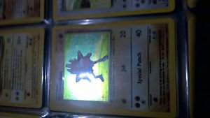 Pokemon Hitmonchan 7/102 Base Set Holo Rare Lightly Played Fast Shipping!