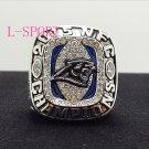 2015 Carolina Panthers NFC FOOTBALL Championship Ring 7-15 Size