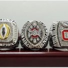 2015 Ohio State Buckeyes College national championship ring 8-14S copper solid back ingraved inside