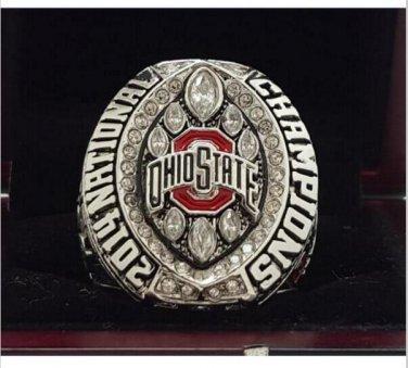 2014 Ohio State Buckeyes NCAA National Championship Ring 7-15 Size