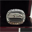 2014 Seattle Seahawks XLVIII Super bowl championship ring8-14 Size