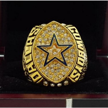 1992 Dallas Cowboys super bowl ring 8-14 Size High quality, it is worth collecting