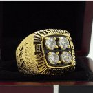 1979 Pittsburgh Steelers super bowl champion ring 8-14 Size High quality, it is worth collecting