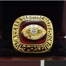 1969 Kansas City Chiefs NFL Super bowl Championship Ring 11S Alloy Solid in stock