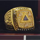 2002 Los Angeles Lakers National Bakstball Championship Ring 10 Size Kobe Name