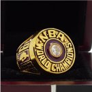 1982 Los Angeles Lakers National Basketball Championship Ring 7-15 Size Copper Engraved Inside