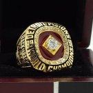 1990 DETROIT PISTON National Basketball Championship Ring 7-15 Size Copper Engraved Inside