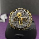 2009 Los Angeles Lakers National Basketball Championship Ring 7-15 Size Copper Engraved Inside