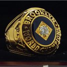 1955 Brooklyn Dodgers MLB World Seires Championship Ring 7-15 Size Copper Solid Engraved Inside