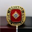 1982 St. Louis Cardinals MLB World Seires Championship Ring 7-15 Size