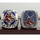 One Set 2 PCS 2007 2013 Boston Red Sox MLB World Seires Championship Ring 7-15 Size