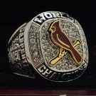 2011 St. Louis Cardinals MLB World Seires Championship Ring 7-15 Size Copper Solid Engraved Inside