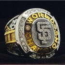 2010 San Francisco Giants MLB World Seires Championship Ring 7-15 Size Copper Solid Engraved Inside