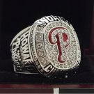 2008 Philadelphia Phillies MLB World Series Championship Ring 7-15 Size Copper Solid Engraved Inside