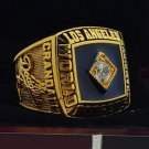 1981 Los Angeles Dodgers MLB World Seires Championship Ring 7-15 Size Copper Solid Engraved Inside