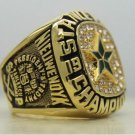 1999 Dallas Stars NHL Hockey Stanely Cup Championship Ring 7-15 Size Copper Engraved Inside